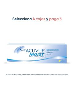 1-Day Acuvue® Moist® para Astigmatismo con LACREON™