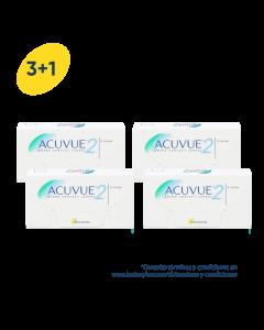 3+1 Pack Acuvue 2