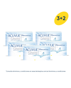 3+2 Pack Acuvue® Oasys® con HydraClear® Plus
