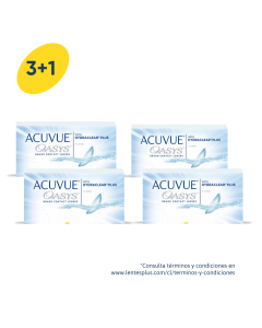 3+1 Pack Acuvue Oasys con HydraClear Plus
