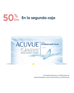 Pack Acuvue Oasys con HydraClear Plus