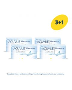 3+1 Pack Acuvue® Oasys® con HydraClear® Plus