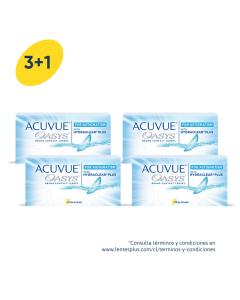 3+1 Pack Acuvue Oasys para Astigmatismo con HydraClear Plus
