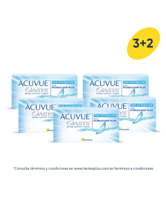 3+2 Pack Acuvue Oasys para Astigmatismo con HydraClear Plus