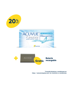 Acuvue® Oasys® para Astigmatismo con HydraClear® Plus