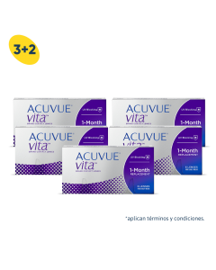 3+2 Pack Acuvue Vita