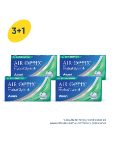 3+1 Pack Air Optix plus HydraGlyde Astigmatismo
