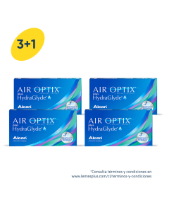 3+1 Pack Air Optix plus HydraGlyde