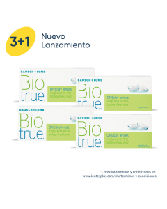 3+1 Pack BioTrue®ONEday