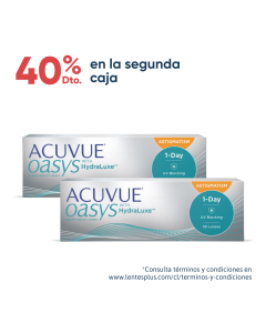 Acuvue Oasys 1 Day with Hydraluxe para Astigmatismo