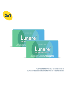 2X1 Pack Lunare Neutros