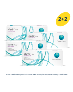 2+2 Pack Clariti 1 day multifocal