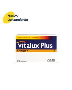 VITALUX PLUS OMEGA 3  (vitamina para ojos)